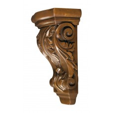 Royal Sheffield Acanthus Corbel - 9-1/2in H x 4-3/4in W x 3-3/4in D