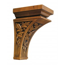 Royal Sheffield Liana Corbel - 13in H x 5-1/2in W x 9in D